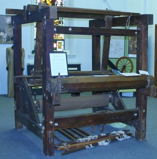 Potsdam Public Museum - Spinning-Weaving Exhibit