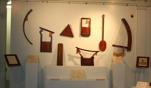Potsdam Public Museum - Ancient Musical Instruments